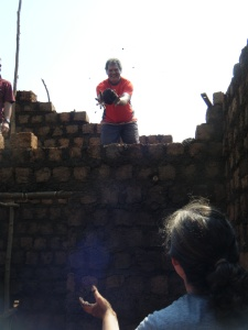 RDIS/Munazi Building site for poor households - All the way from UK Devon Team& ICS Team, Local Team