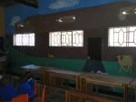 Completed  mural of Zion Nursery School