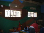 Completed  mural of Zion Nursery School