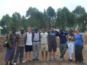 Gikomero medical Centre with ICS Team