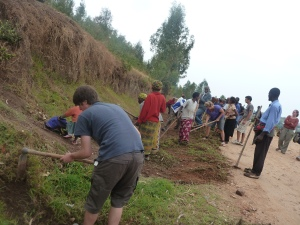 Getting involved in Umuganda - the community work
