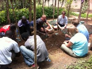 Team @ Shyogwe Tree nursery